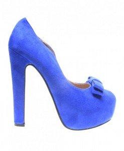 Pantofi dama albastri Ego - Home > Reduceri -