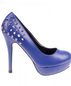 Pantofi dama albastri Skyler - Home > Reduceri -