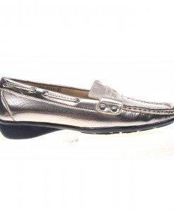 Pantofi dama argintiu Sanziana - Home > Reduceri -