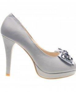Pantofi dama gri Win - Home > Reduceri -