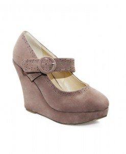 Pantofi dama khaki Norina - Home > Pantofi -