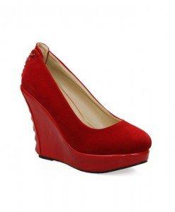 Pantofi dama rosii Hope - Home > Pantofi -
