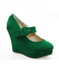 Pantofi dama verzi Norina - Home > Pantofi -