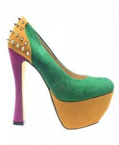 Pantofi dama verzi Spider - Home > Pantofi -