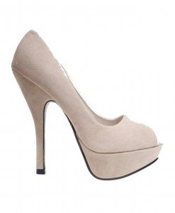 Pantofi de dama beige Laurent - Home > Reduceri -