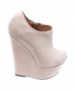 Pantofi de dama beige Over the Top - Home > Reduceri -