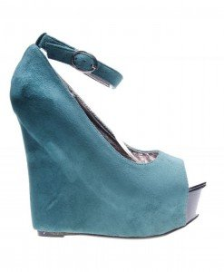 Pantofi de dama dark green Wild - Home > Reduceri -