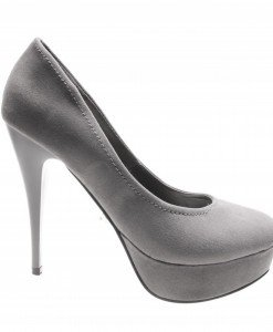 Pantofi de dama grey Lounge - Home > Reduceri -