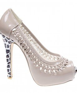 Pantofi de dama khaki Duke - Home > Reduceri -