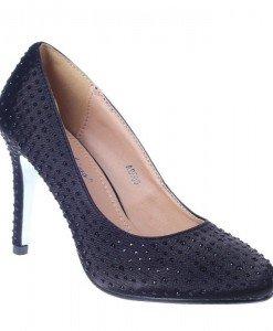 Pantofi de ocazie Matilda negri - Home > Reduceri -