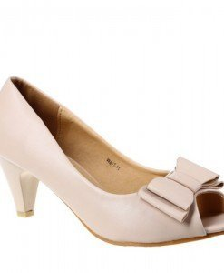 Pantofi decupati Nerida beige - Home > Pantofi -