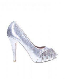 Pantofi din satin Samantha - Home > Pantofi -