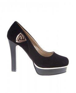 Pantofi din velur Azura - Home > Pantofi -