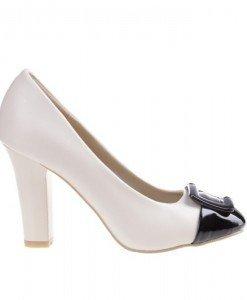 Pantofi in doua culori Colletta - Home > Pantofi -