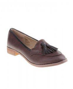 Pantofi katrina dark brown - Home > Pantofi -