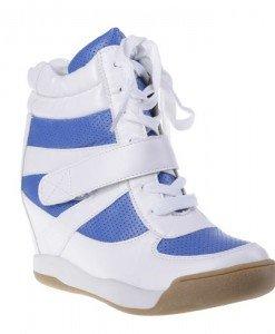 Pantofi sport Magda alb/blu - Home > SPORT -