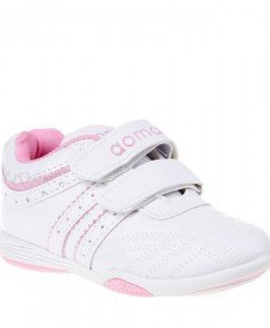 Pantofi sport copii Betty albi/roz marimi 24-29 - Home > Copii -