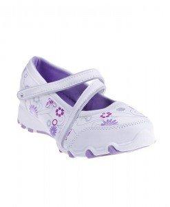 Pantofi sport copii Theo alb/mov - Home > Copii -