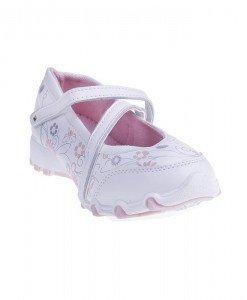 Pantofi sport copii Theo alb/roz - Home > Copii -