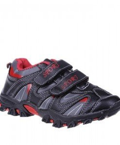 Pantofi sport copii negru/rosu masuri 31-36 - Home > Copii -