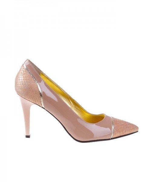 Pantofi stiletto din piele naturala Loona – Home > Pantofi –
