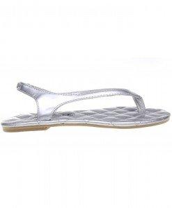 Papuci copii argintii Sporty - Home > Copii -
