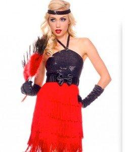Q304 Costum tematic Halloween cabaret - Altele - Haine > Haine Femei > Costume Tematice > Altele