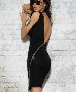 Q434-1 Rochie sexy cu spatele gol