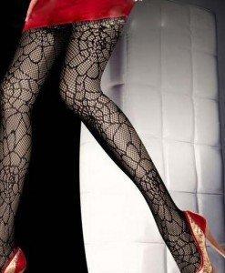 STK170-1 Ciorapi din plasa cu model - Ciorapi dama - Haine > Haine Femei > Ciorapi si manusi > Ciorapi dama