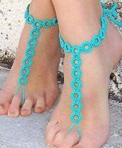 STK175-122 Accesorii crosetate pentru picior