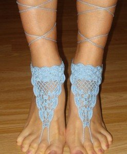 STK176-24 Accesorii crosetate pentru picior