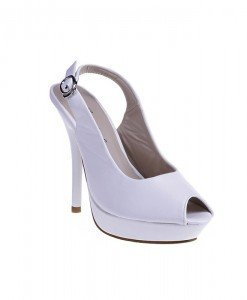 Sandale Aroma albe - Home > Sandale -
