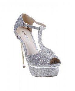Sandale Aylin argintii - Home > Sandale -