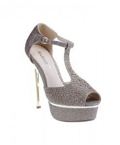 Sandale Aylin aurii - Home > Sandale -