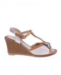 Sandale Coralia bej - Home > Sandale -