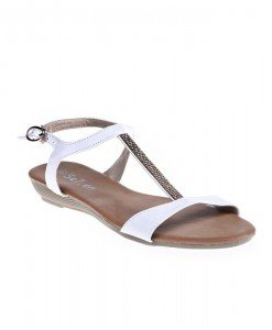Sandale Ibbie albe - Home > Sandale -