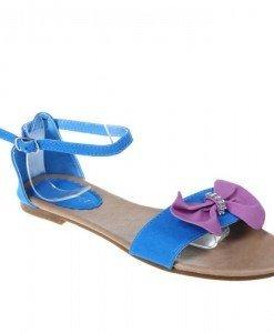 Sandale albastre Lucky cu funda - Home > Sandale -