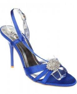 Sandale albastre Valeria - Home > Sandale -
