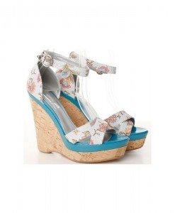 Sandale albastru cu alb Wings - Home > Sandale -