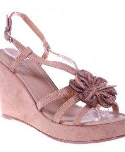 Sandale beige Carolline - Home > Sandale -