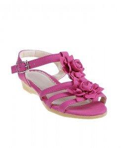 Sandale copii Aisha fuchsia - Home > Copii -