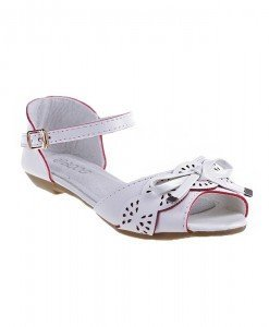 Sandale copii Diana albe - Home > Copii -