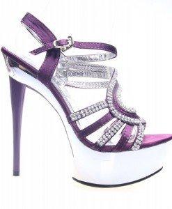 Sandale dama mov Devin - Home > Sandale -