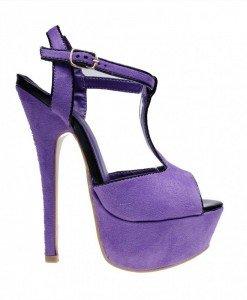 Sandale de dama purple Kristal - Home > Sandale -