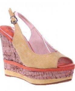 Sandale galbene Aneta - Home > Sandale -