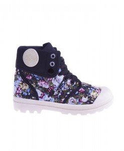 Sneakers Flower Power black - Home > SPORT -