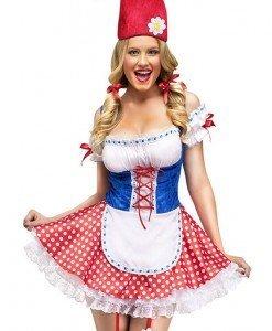 W414 Costum tematic Halloween - Garden Gnome (pitic de gradina) - Altele - Haine > Haine Femei > Costume Tematice > Altele