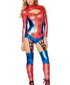 W433-43 Costum tematic cu model Spider - Altele - Haine > Haine Femei > Costume Tematice > Altele