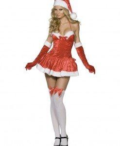 XM301 Costum tematic craciunita - Naughty Miss Santa - Costume de craciunita - Haine > Haine Femei > Costume Tematice > Costume de craciunita