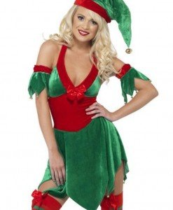 XM328-12 Costum cu tematica de Craciun - Christmas Elf - Costume de craciunita - Haine > Haine Femei > Costume Tematice > Costume de craciunita